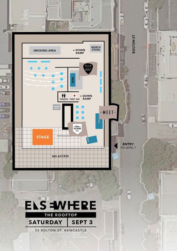 Elsewhere map