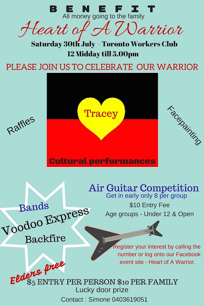 Traceys benefit flyer (2)