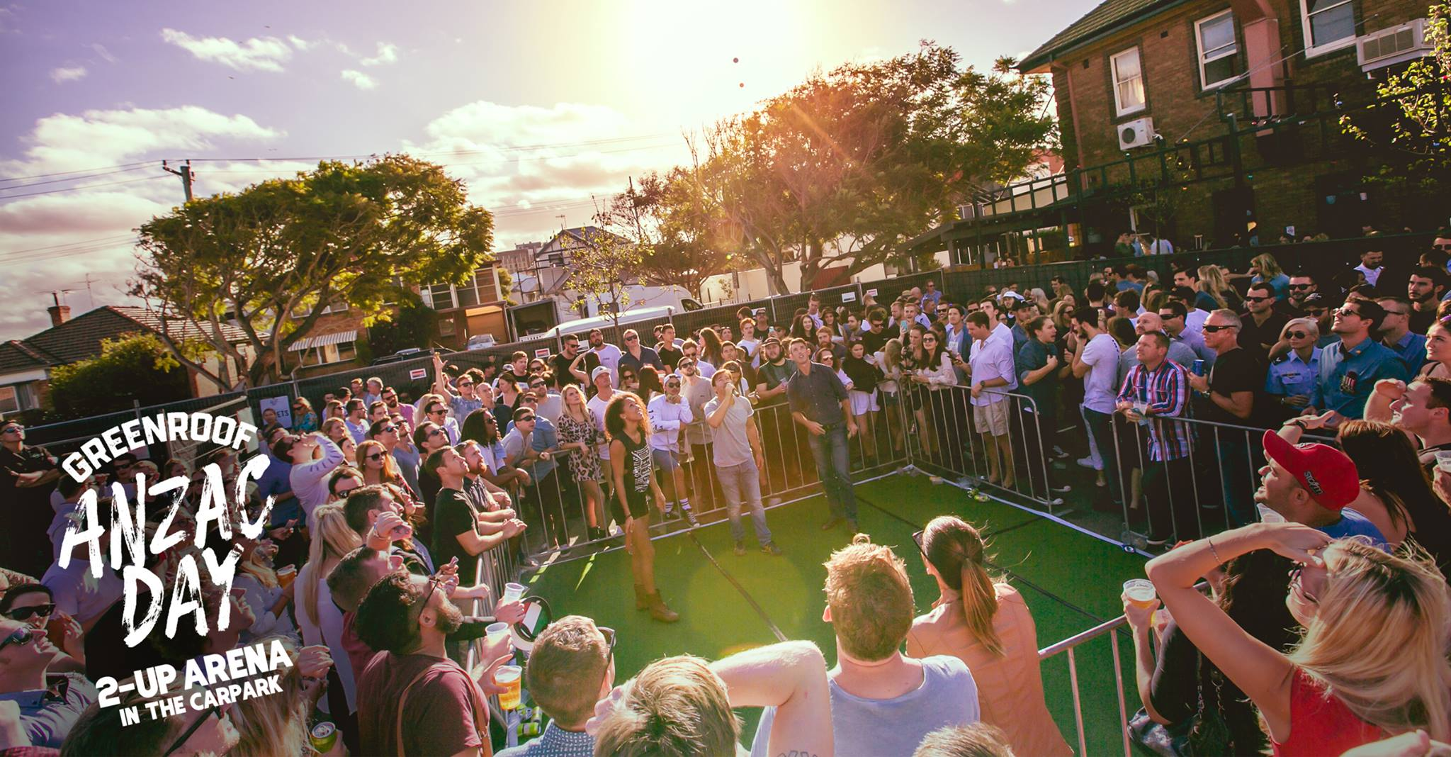 The Greenroof's ANZAC DAY