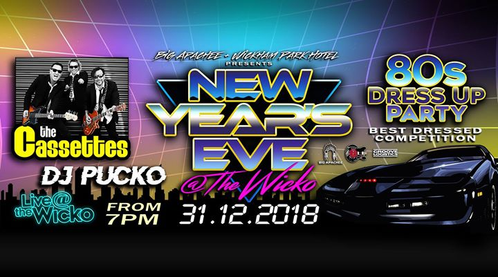 80's NYE at The Wicko!