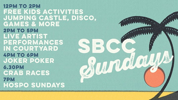 Kids Activities Sundays – Jumping Castle, Games, Disco & More