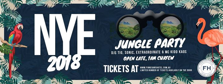 New Years Eve Jungle Party