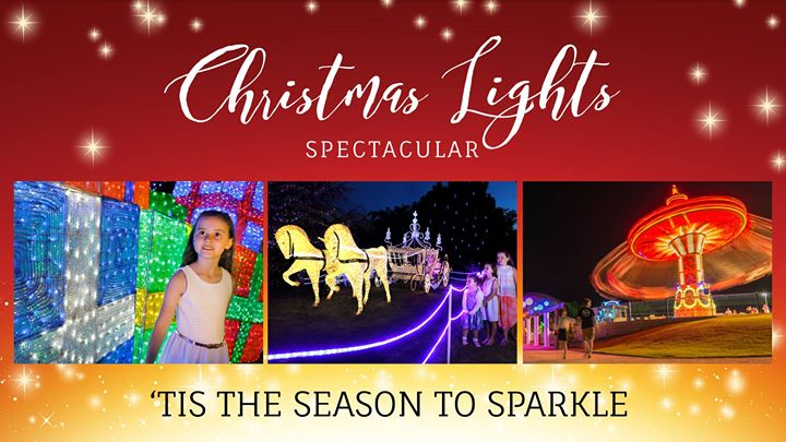 Christmas Lights Spectacular at Hunter Valley Gardens! Part two.