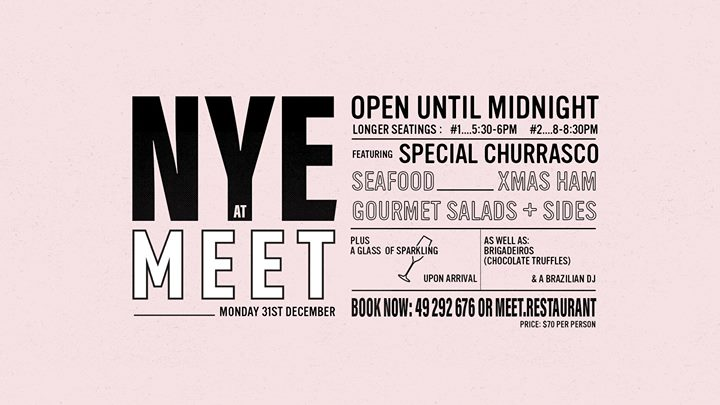 NYE at MEET 2018