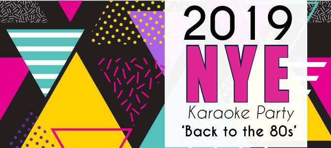 NYE Karaoke Party fr 8pm