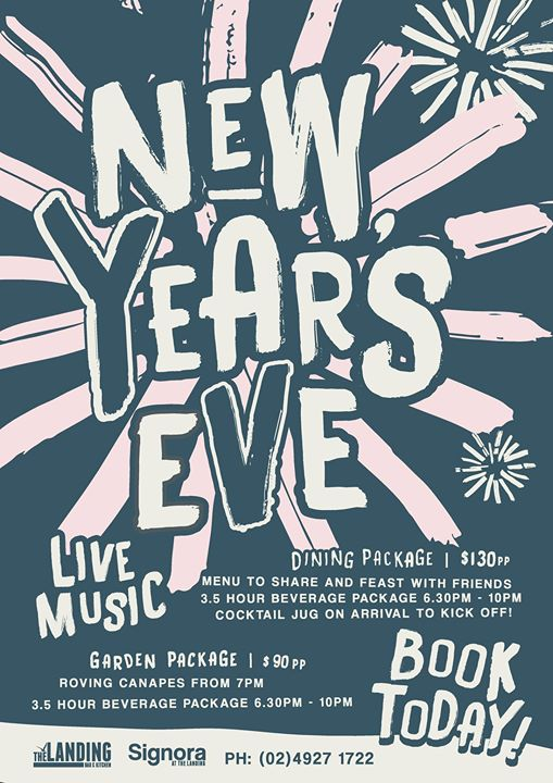 New Years Eve at The Landing Bar
