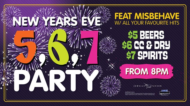 Jewells Tavern NYE 567 Party ft Misbehave