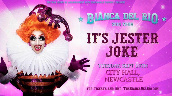 Bianca Del Rio's 'It's Jester Joke' at City Hall, Newcastle