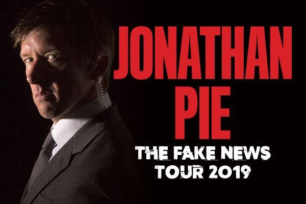 Jonathan Pie The Fake News Tour 2019
