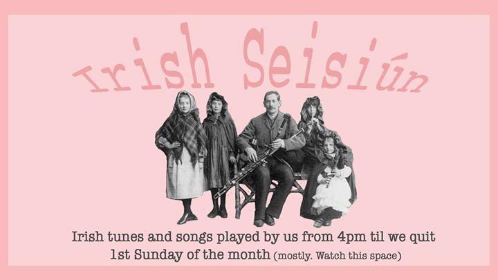 Irish Seisiún – 4pm Sunday 3rd November