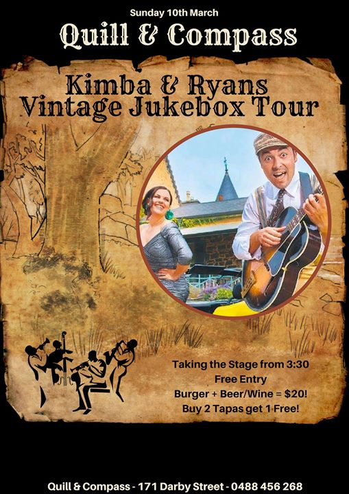 Kimba & Ryan Live at Quill & Compass   Quill & Compass - Sun