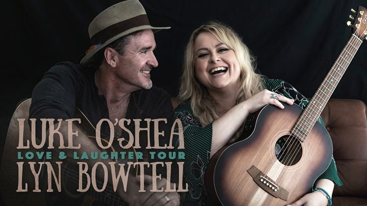 Luke O'Shea and Lyn Bowtell, Love & Laughter Tour – Newcastle