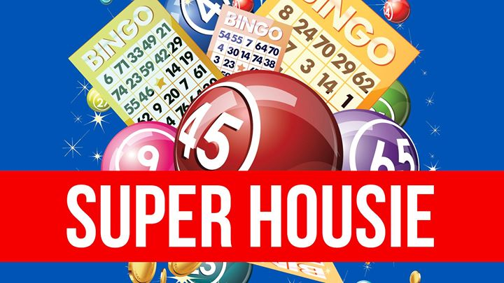 Super Cash Housie – 4 x $1,000 Cash Prizes