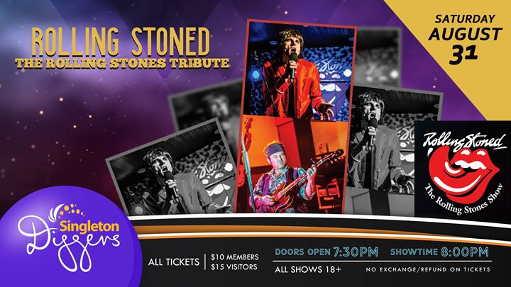 Rolling Stoned – The Rolling Stones Tribute