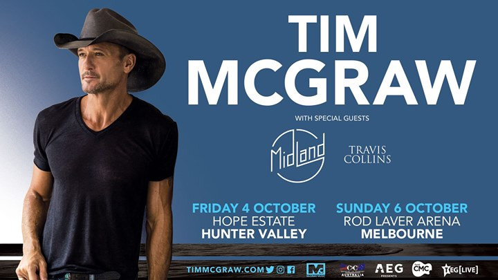 Tim McGraw Live at Hope Estate