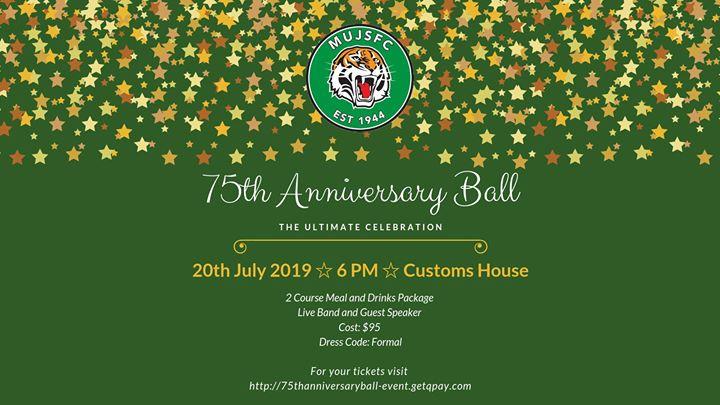 75th Anniversary Ball