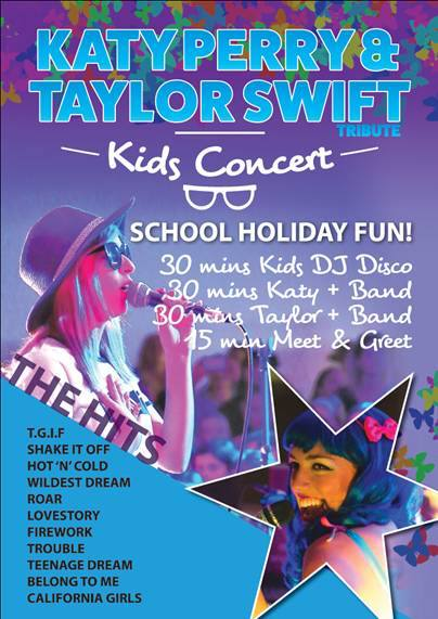 Katy Perry & Taylor Swift Kids Concert