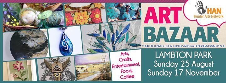 Art Bazaar Lambton Park Sunday 25 August 2019