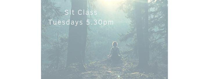 Sit Class – (Mindfulness Meditation) Tuesdays 5.30pm