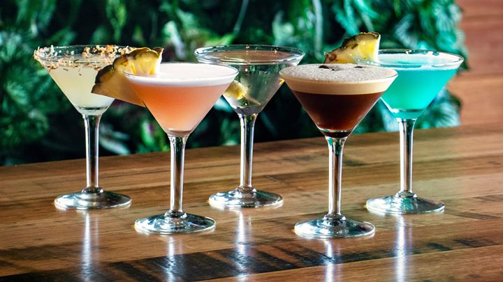 Martini Day in The Boat Shed Bar