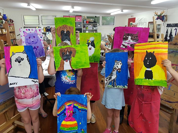 July School Holiday Art Workshops