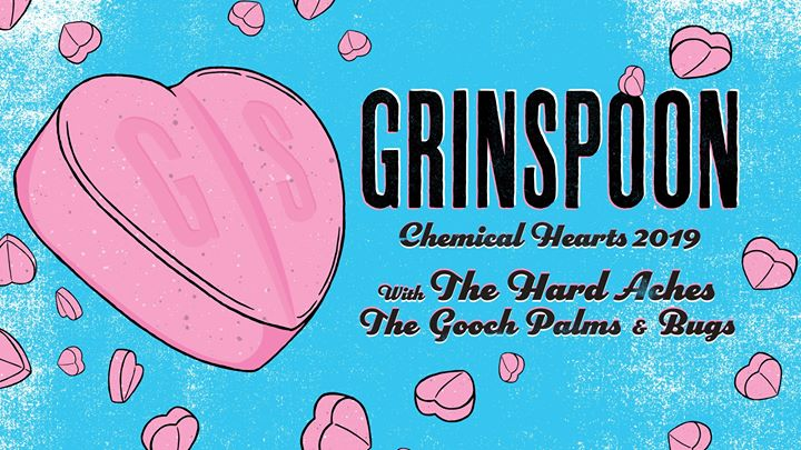 Grinspoon Chemical Hearts 2019 Tour