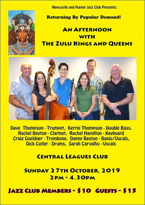 The Wonderful Zulu Kings & Queens