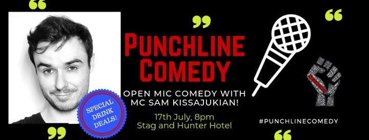 Punchline Comedy with Sam Kissajukian