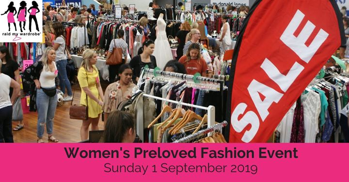 Raid My Wardrobe – Womens Preloved Fashion Event