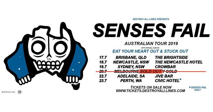 Senses Fail Australian Tour – Newcastle