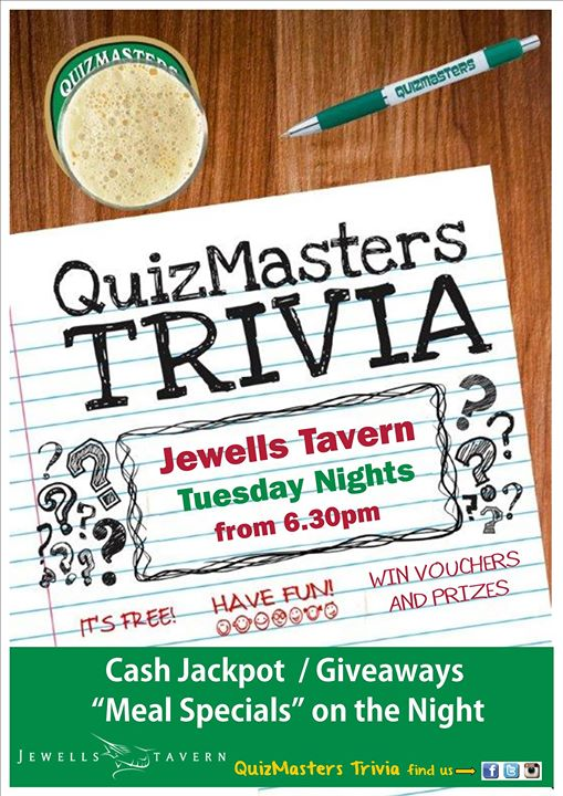 Tuesday Trivia at Jewells