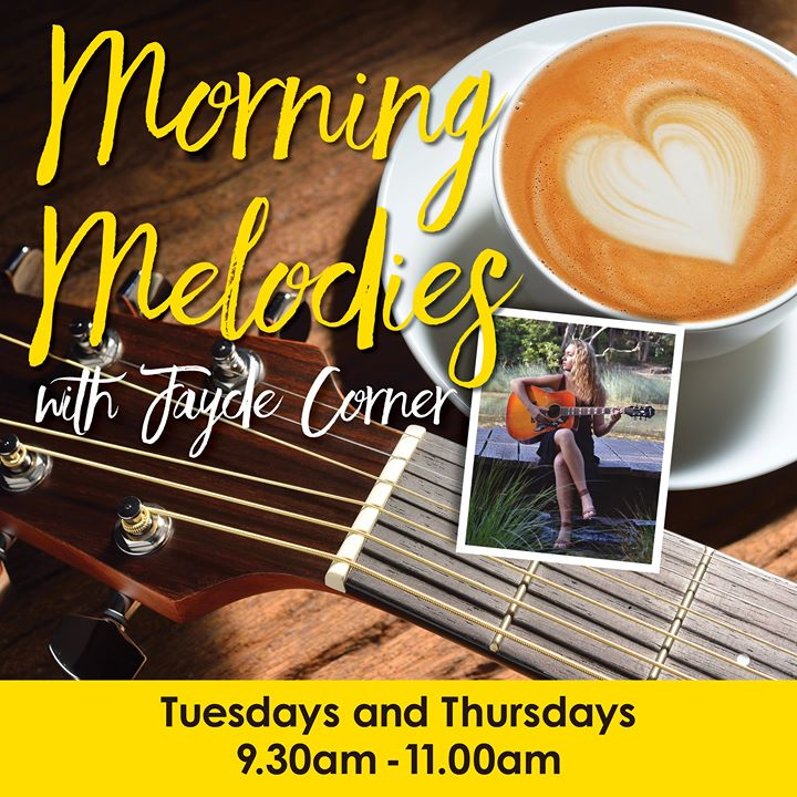 Morning Melodies with Jayde C   Cardiff RSL Club - Tue, 16