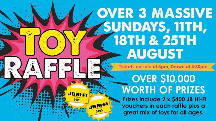 Cardiff RSL Toy Raffles