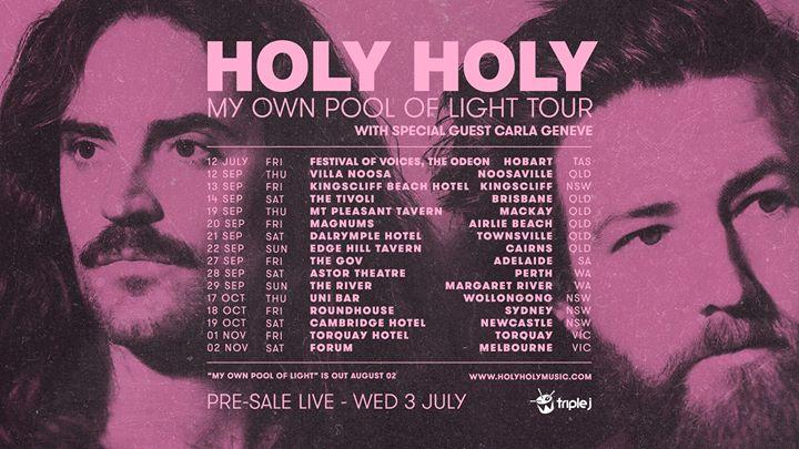 HOLY HOLY – Newcastle, NSW