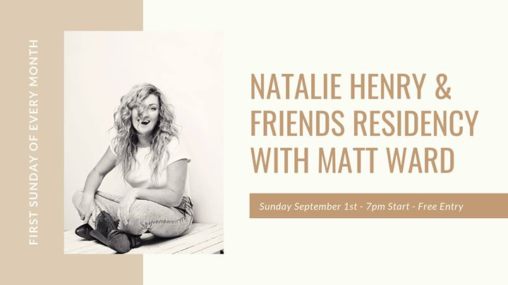 Natalie Henry & Friends Residency – September