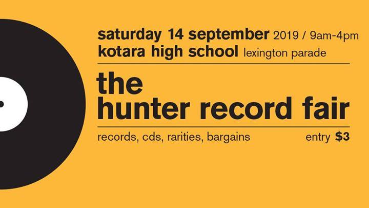 The Hunter Record Fair – Saturday 14 September 2019