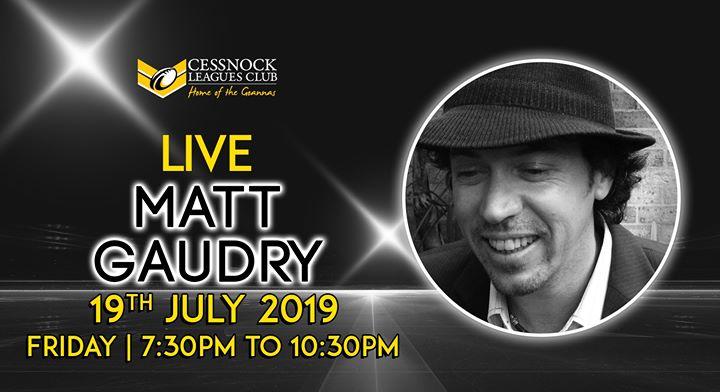 Matt Gaudry – LIVE