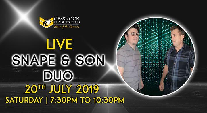 Snape & Son – LIVE