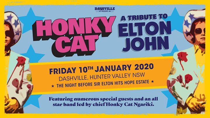 Honky Cat – a Dashville tribute to Elton John