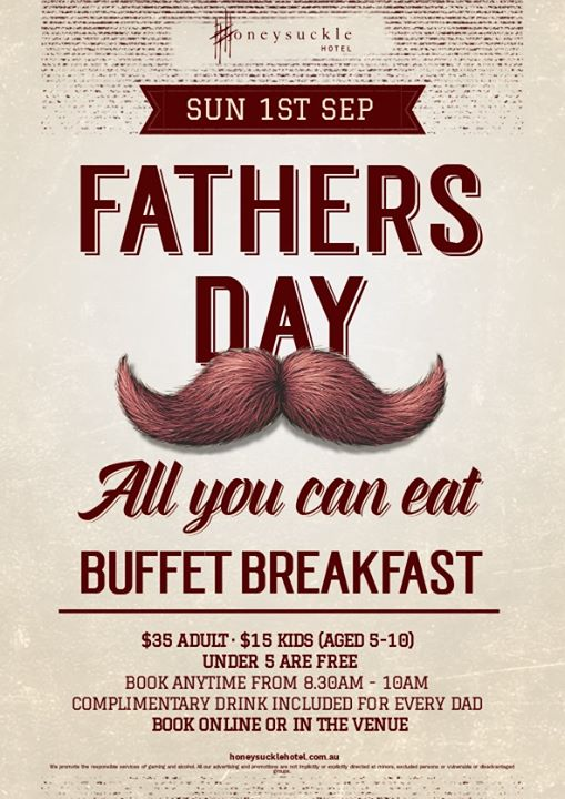 Father's Day – All You Can Eat Buffet Breakfast