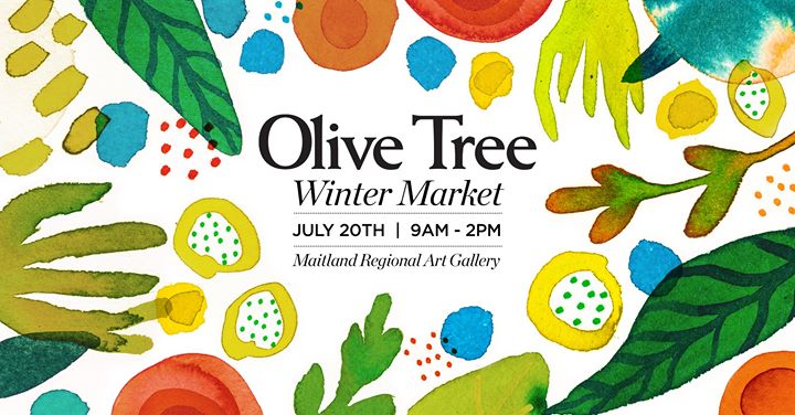 The Olive Tree Winter Market at Maitland Regional Art Gallery
