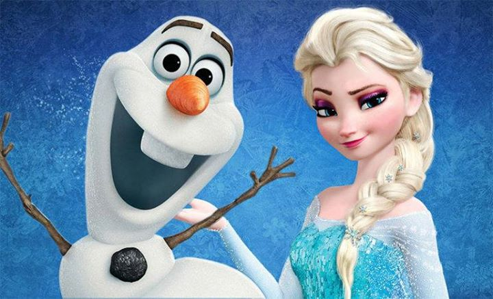 Friday Night Disco with Elsa and Olaf