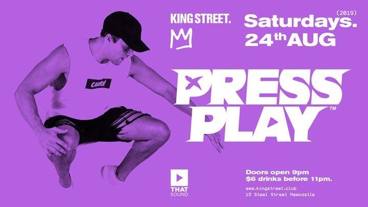 Press Play • $6 drinks til 11pm