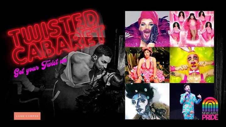 Newcastle Pride | Twisted Cabaret – Festival Launch Event