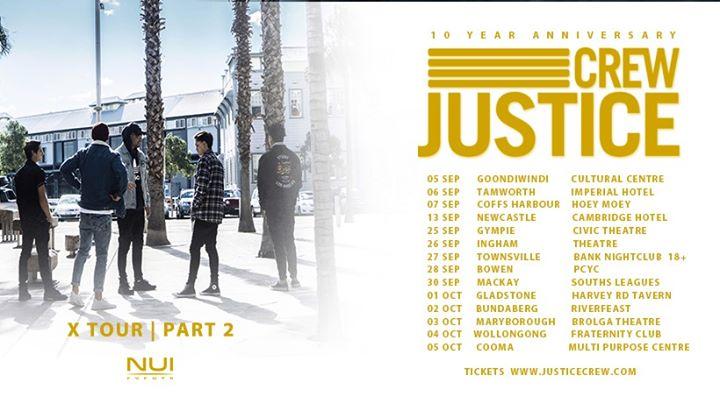 Justice Crew Newcastle Concert – 10th Anniversary Tour