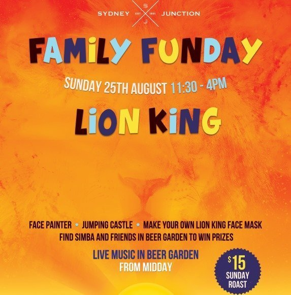 Lion King Family Fun Day