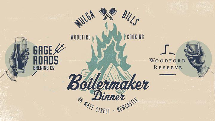 Woodford Reserve & Gage Roads Boilermaker Dinner