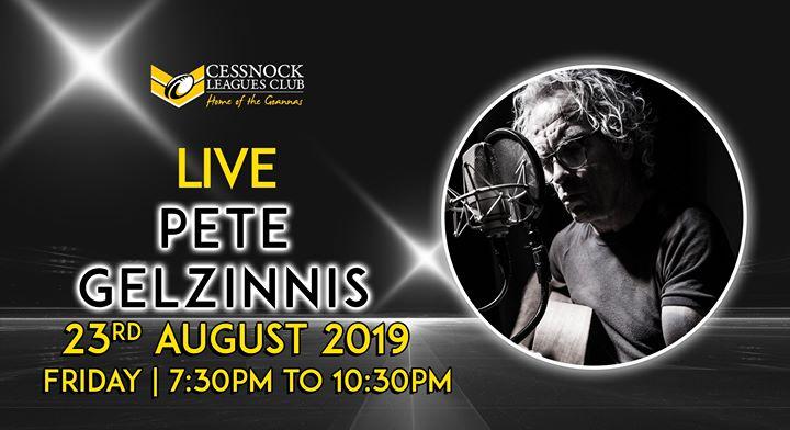Pete Gelzinnis – LIVE