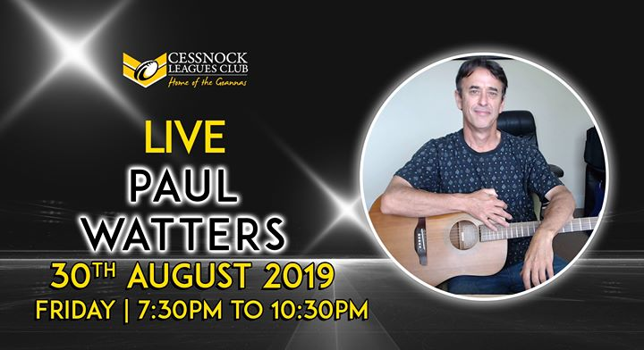 Paul Watters – LIVE