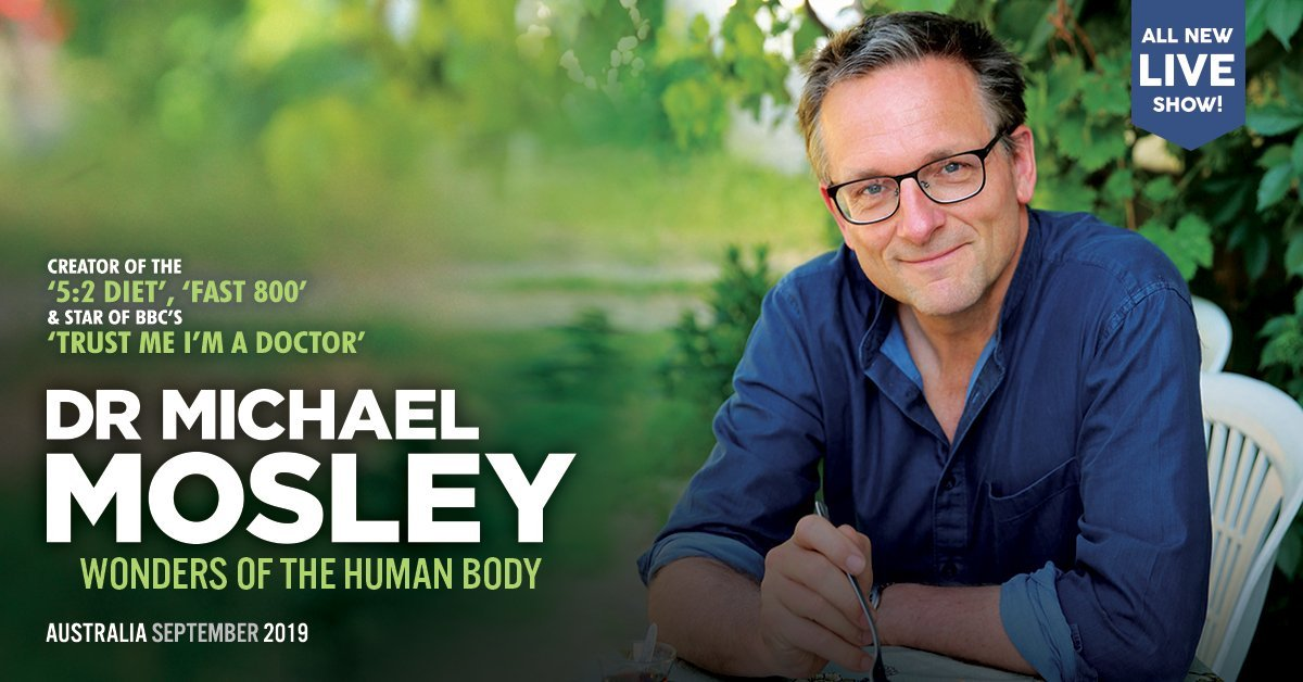 Dr Michael Mosley | Live show: Wonders of the Human Body
